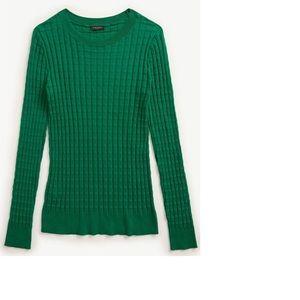 NEW! Ann Taylor Textured Lightweight Sweater- NWT!